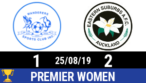 PW2019 0825 Kate Sheppard Cup Wanderers Eastern Suburbs